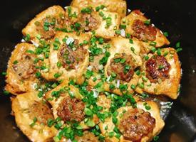 经典粤菜客家酿豆腐美食图片