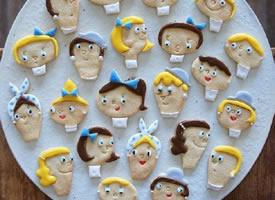 卡通主题系列手作饼干
