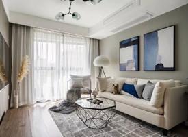 80平的现代风小户型二居室