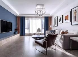 经典蓝·雅致通透的家,温馨舒适有格调