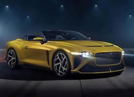 宾利 Bacalar 车身的设计完美,颜值在线
