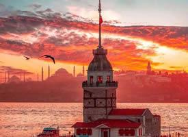伊斯坦布尔的傍晚