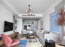 90平米北欧风格装修的家,干净、简约