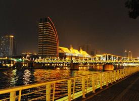 天津海河夜景图片