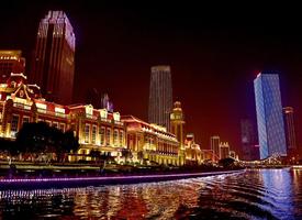 耀眼靓丽的天津夜景图片
