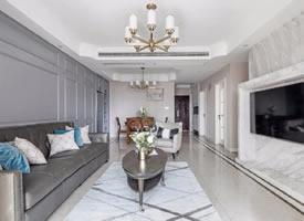 现代美式风三居室装修设计