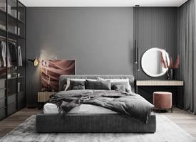 极简的优雅,质感舒适的生活空间