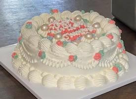 一组独特的复古生日蛋糕图片