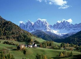 著名的阿尔卑斯山图片