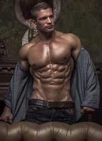 展现完美身材的欧美肌肉型男帅哥写真图片
