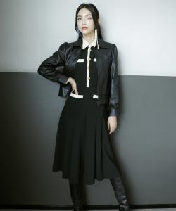 曾可妮刘令姿时尚潮流写真图片