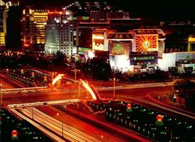 美丽富饶的北京夜景图片