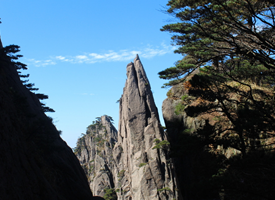 奇特美丽的安徽黄山风景图片