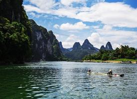 秀丽的桂林漓江风景图片
