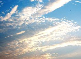 一组美丽的天空云彩图片