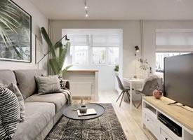 40㎡精致小公寓,满满的舒适感