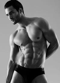 美国肌肉男神诱惑迷人写真图片
