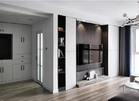 95平现代简约风,简单经济的舒适宅