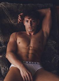 欧美肌肉男模性感写真集