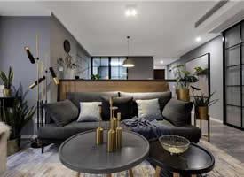 现代简约,灰色与木质,自然的舒适