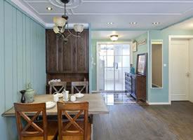 80㎡两居室美式装修