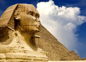 神奇的埃及金字塔图片