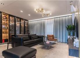 125平的现代风三房,客厅占两房