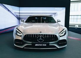 奔驰AMG GTC,颜色看着很舒服