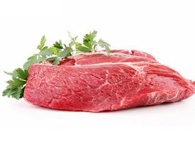 一组红色的生牛肉图片