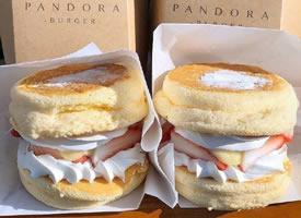 美味的松饼美食图片