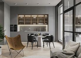 70㎡公寓设计,小空间大视野