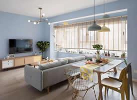 113平的北欧风三居室,把收纳与生活结合起来