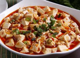 超有食欲的麻婆豆腐图片