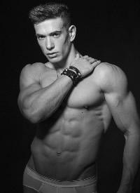 欧美极品肌肉帅哥私房写真图片