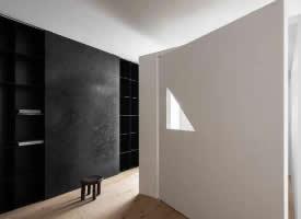 极简设计,不到顶的隔间让家更有趣