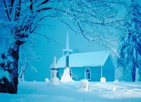 精美雪景风光壁纸图片