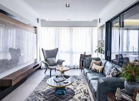 105平现代北欧风三居室