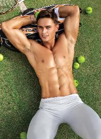 欧美年轻肌肉帅哥心动写真图片