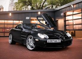 Mercedes Benz Mclaren SLR,太酷了
