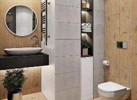 让小卫生间装出豪宅大气感