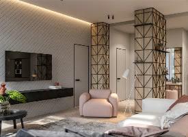 极简风年轻女孩公寓装修设计案例,太美了