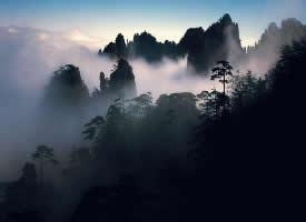 风景优美的黄山图片