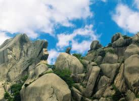 黄山奇石的图片