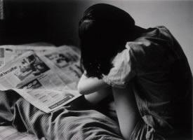 颓废感的黑色伤感图片
