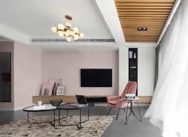 甜美时尚小公寓的完美设计