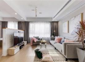 100㎡北欧风格家居装修设计案例