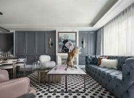 法式风格浪漫别墅装修设计