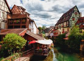 法国科尔马小镇图片欣赏