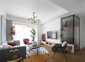 107㎡北欧2室2厅设计
