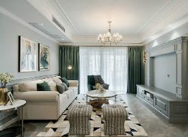 清新现代美式风格家居装修设计